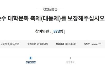 부산 18개대 총학생회 '술판매 금지령' 반발…청와대 청원