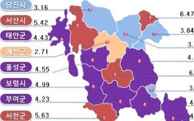 충남 공시지가 4.3%↑…전원주택 수요 많은 청양 6.8%로 최고
