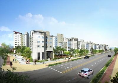 롯데건설, 김포한강 운양지구 내 공공지원 민간임대주택 이달 공급