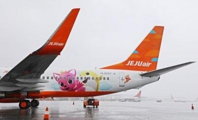한류스타 핑크퐁, 제주항공 타고 하늘길 난다