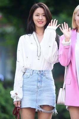 AOA 설현, '아침부터 굴욕없는 눈부신 미모'