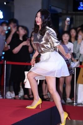 이혜영, '대한민국 각선미 보험의 원조'