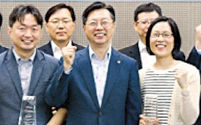 이지환·차지영 교수 '한화첨단소재 신진 교수상'