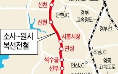 부천·안산 출근길 빨라진다… 소사~원시 복선전철 16일 개통