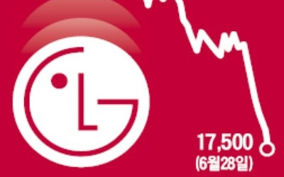올해 40% 급락한 LGD '역대 최저가'도 깨지나