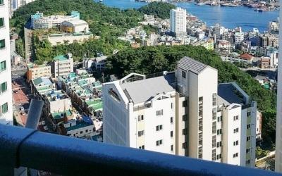 다대포항 인근 바다가 보이는 집… 부산 '다대푸르지오'