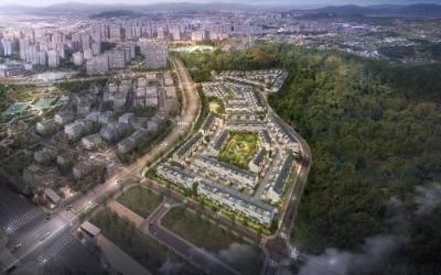 블록형 단독주택 김포 '자이더빌리지' 입주 시작