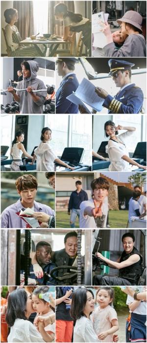 '이별이 떠났다', 채시라부터 정웅인까지… '화기애애' 촬영 현장 공개