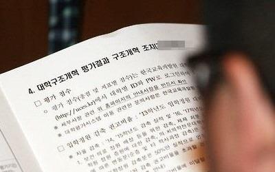 전국 대학 86곳, 정원감축·재정지원 제한 가능성… 8월 확정