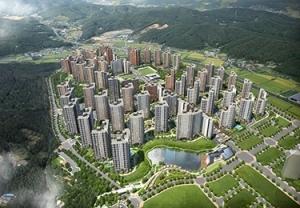 아파트가 문화 장터…'e편한세상 용인 한숲시티'