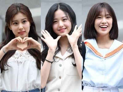 출근길도 화보처럼…'흥선대원군픽' 장원영·강혜원·안유진