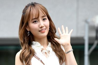 박해윤, '상큼한 미소지으며 즐거운 출근길~' (프로듀스 48 출근길)