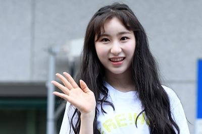 이채연, '볼수록 사랑스러운 청정 미소' (프로듀스 48 출근길)
