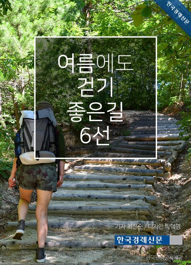 (카드뉴스) 여름에도 걷기 좋은 길 6선