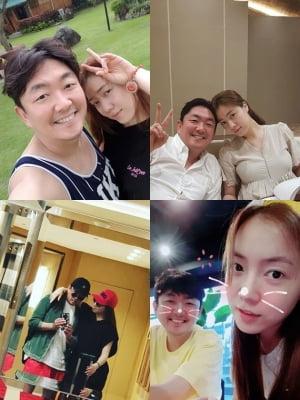 엘제이, 류화영 사생활 사진 무단 공개 논란…돌연 SNS '비공개'