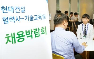 현대건설, 업계 첫 '협력사 채용박람회'