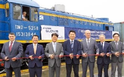 시베리아 10000㎞ 횡단 화물열차… 현대글로비스, 급행으로 달린다