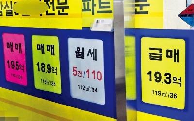 '과열 단속'에도… 아파트값 상승세 경기 핵심지역 확산