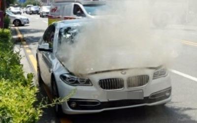 """김현미 국토부 장관 """"안전진단 안 받은 BMW 운행중지 검토"""""""