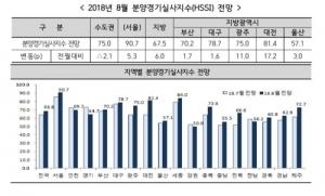 분양시장 체감경기 위축 지속…'서울 집중' 현상 심화