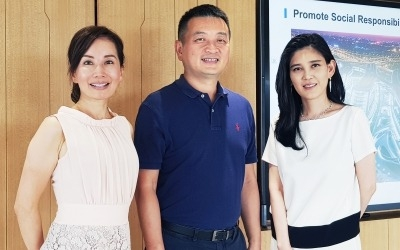 이부진 사장, '유커' 재공략…중국 최대 여행사 CEO와 회동