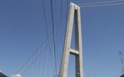 세계 첫 '주탑 기울어진 현수교' 노량대교 개통