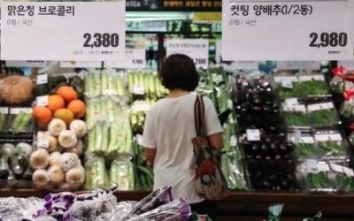 """""""올 추석 차례상엔 시금치 못 올린다""""…8년만에 농산물값 최대치로 올라"""