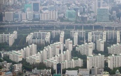 '고공행진' 서울 아파트값, 고가일수록 많이 올랐다