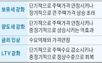 """국책硏도 """"보유세 올리면 중장기적으로 집값 상승 역효과"""" 경고"""