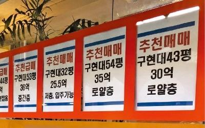 """매물 씨 마르고 호가 천정부지… 이틀 새 1억 올려도 """"당장 계약하자"""""""
