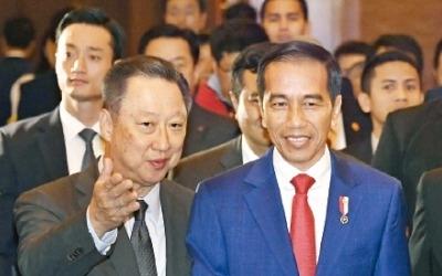"""롯데·CJ """"印尼는 좋은 동반자… 지속적 투자 확대"""""""