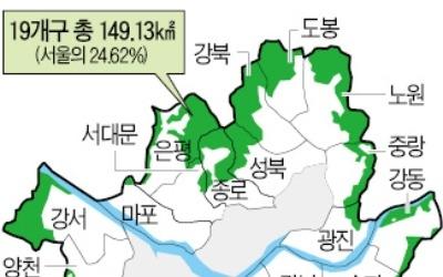 10만 가구 후보지는 어디… 서울시 '그린벨트 버티기'가 변수