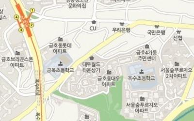 금호동 '서울숲 푸르지오1차' 전용 84㎡ 13억 돌파