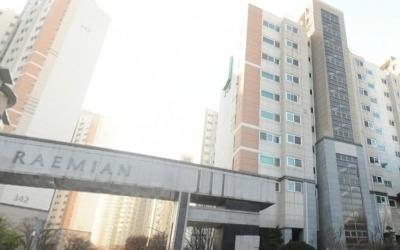 과천 '래미안슈르' 전용 59㎡ 10억원 육박