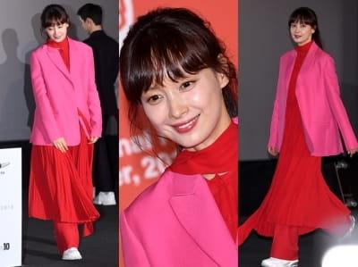 '패완얼'이라지만…이나영, 총체적 난국 패션
