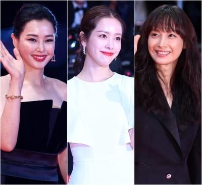 이하늬-한지민-이나영, '부산국제영화제를 화려하게 빛낸 여배우들'