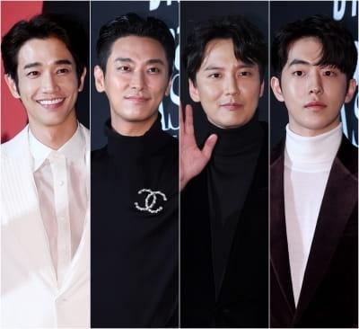 류이호-주지훈-김남길-남주혁, '女心 흔드는 네 남자의 부드러운 매력'