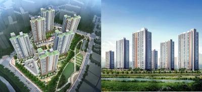 경산 하양지구, 호반베르디움 vs 우미린 '맞대결'