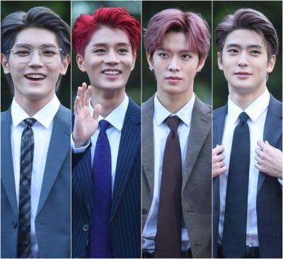 NCT 127, 슈트 입고 준비해 온 출근길…'일부 극성팬에 무산될 뻔'