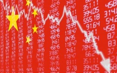 코스피, 하락세 지속…中 3분기 경제성장률 예상치 하회