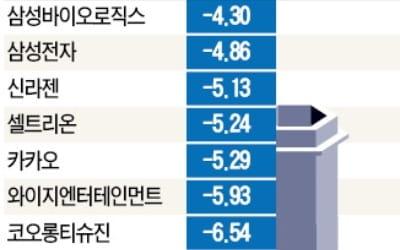 성장株는 끝물?…美 IT, 韓 바이오 폭락