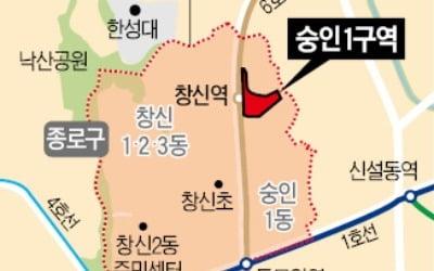 10년 넘게 재개발 '지지부진'…숭인1·본동6 '예정구역' 해제