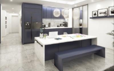 현대건설 '거실+주방' 신평면 선보여