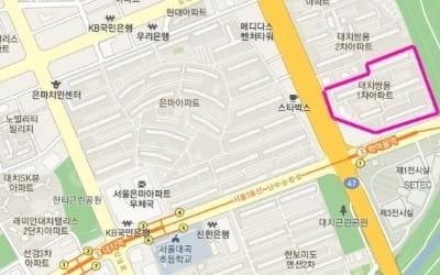 대치동 역세권 '대치쌍용1차', 시공자 선정 예정