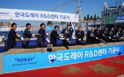 CJ대한통운 건설부문, 마곡지구 '한국도레이 R&D센터' 기공식 가져