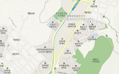 상계동 '불암현대' 전용 84㎡ 5억원에 실거래