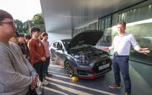 현대자동차, 대학생 초청 '자동차 기술 캠프' 열어