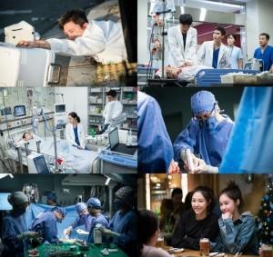 '흉부외과' 고수, 母 이식 심장 이송 중 사고...긴박한 전개에 시청률 상승