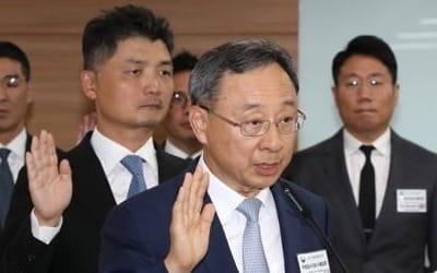 "KT 황창규 회장 ""5G 장비사 조만간 발표…화웨이 포함해 검토"""