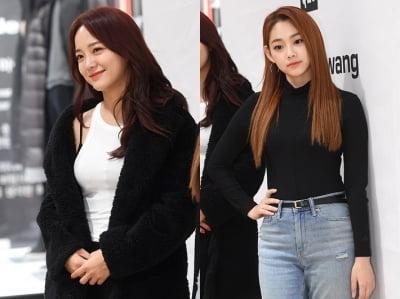 구구단 세정·미나 '예쁜 몸매 뽐내며'